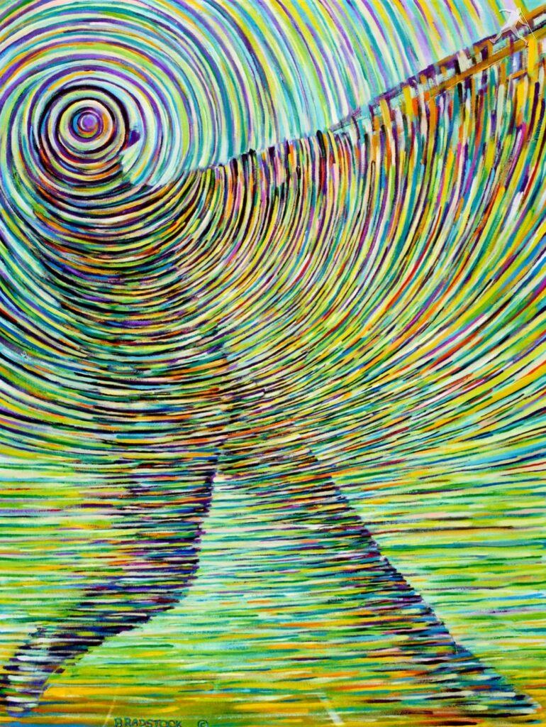 Famous Line Art Paintings : Acrylic paintings « roald bradstock